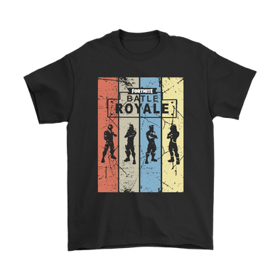 Fortnite – Battle Royale Shirts-T-shirt-Gildan Mens T-Shirt-Black-S-Itees Global