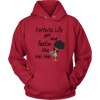 Fortnite – Fortnite Life Got Me Feelin Like Hei Hei Shirts-T-shirt-Unisex Hoodie-Red-S-Itees Global