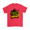 Fortnite – If You Want Me To Listen To You Shirts-T-shirt-Gildan Mens T-Shirt-Red-S-Geek Mundo Store