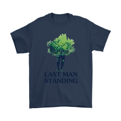 Fortnite – Last Man Standing Shirts-T-shirt-Gildan Mens T-Shirt-Navy-S-Itees Global