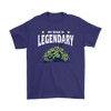 Fortnite – My Bush Is Legendary Shirts-T-shirt-Gildan Mens T-Shirt-Purple-S-Geek Mundo Store