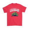 Fortnite – My Bush Is Legendary Shirts-T-shirt-Gildan Mens T-Shirt-Red-S-Geek Mundo Store