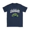 Fortnite – My Bush Is Legendary Shirts-T-shirt-Gildan Womens T-Shirt-Navy-S-Geek Mundo Store