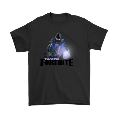 Fortnite – Raven Shirts-T-shirt-Gildan Mens T-Shirt-Black-S-Itees Global