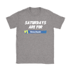 Fortnite – Saturdays Are For Victory Royale Shirts-T-shirt-Gildan Womens T-Shirt-Sport Grey-S-Itees Global