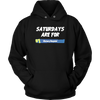 Fortnite – Saturdays Are For Victory Royale Shirts-T-shirt-Unisex Hoodie-Black-S-Itees Global