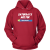 Fortnite – Saturdays Are For Victory Royale Shirts-T-shirt-Unisex Hoodie-Red-S-Itees Global