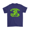 Fortnite – Straight Outta Moisty Mire Shirts-T-shirt-Gildan Mens T-Shirt-Purple-S-Itees Global