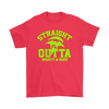 Fortnite – Straight Outta Moisty Mire Shirts-T-shirt-Gildan Mens T-Shirt-Red-S-Itees Global