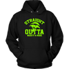 Fortnite – Straight Outta Moisty Mire Shirts-T-shirt-Unisex Hoodie-Black-S-Itees Global
