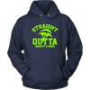 Fortnite – Straight Outta Moisty Mire Shirts-T-shirt-Unisex Hoodie-Navy-S-Itees Global