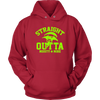 Fortnite – Straight Outta Moisty Mire Shirts-T-shirt-Unisex Hoodie-Red-S-Itees Global