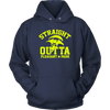 Fortnite – Straight Outta Pleasant Park Shirts-T-shirt-Unisex Hoodie-Navy-S-Geek Mundo Store
