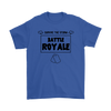Fortnite - Survive The Storm Battle Royale Shirts-T-shirt-Gildan Mens T-Shirt-Royal Blue-S-Geek Mundo Store
