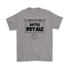 Fortnite - Survive The Storm Battle Royale Shirts-T-shirt-Gildan Mens T-Shirt-Sport Grey-S-Geek Mundo Store