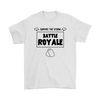 Fortnite - Survive The Storm Battle Royale Shirts-T-shirt-Gildan Mens T-Shirt-White-S-Geek Mundo Store