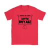 Fortnite - Survive The Storm Battle Royale Shirts-T-shirt-Gildan Womens T-Shirt-Red-S-Geek Mundo Store