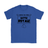Fortnite - Survive The Storm Battle Royale Shirts-T-shirt-Gildan Womens T-Shirt-Royal Blue-S-Geek Mundo Store