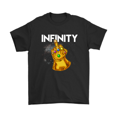 Fuck You Gauntlet Avengers Infinity War Movies Shirts-T-shirt-Gildan Mens T-Shirt-Black-S-Geek Mundo Store