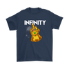 Fuck You Gauntlet Avengers Infinity War Movies Shirts-T-shirt-Gildan Mens T-Shirt-Navy-S-Geek Mundo Store