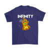 Fuck You Gauntlet Avengers Infinity War Movies Shirts-T-shirt-Gildan Mens T-Shirt-Purple-S-Geek Mundo Store