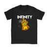 Fuck You Gauntlet Avengers Infinity War Movies Shirts-T-shirt-Gildan Womens T-Shirt-Black-S-Geek Mundo Store