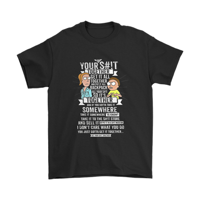 Get It Together Rick And Morty Shirts-T-shirt-Geek Mundo Store