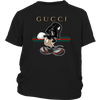 Gucci Darth Vader Mickey Mouse Moana Disney Shirts-T-shirt-District Youth Shirt-Black-XS-Geek Mundo Store