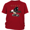 Gucci Darth Vader Mickey Mouse Moana Disney Shirts-T-shirt-District Youth Shirt-Red-XS-Geek Mundo Store