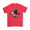 Gucci Darth Vader Mickey Mouse Moana Disney Shirts-T-shirt-Gildan Mens T-Shirt-Red-S-Geek Mundo Store