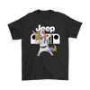 Jeep Unicorn Dabbing Shirts-T-shirt-Gildan Mens T-Shirt-Black-S-Geek Mundo Store