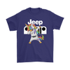 Jeep Unicorn Dabbing Shirts-T-shirt-Gildan Mens T-Shirt-Purple-S-Geek Mundo Store
