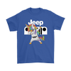 Jeep Unicorn Dabbing Shirts-T-shirt-Gildan Mens T-Shirt-Royal Blue-S-Geek Mundo Store