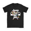 Jeep Unicorn Dabbing Shirts-T-shirt-Gildan Womens T-Shirt-Black-S-Geek Mundo Store