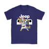 Jeep Unicorn Dabbing Shirts-T-shirt-Gildan Womens T-Shirt-Purple-S-Geek Mundo Store