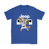 Jeep Unicorn Dabbing Shirts-T-shirt-Gildan Womens T-Shirt-Royal Blue-S-Geek Mundo Store
