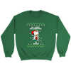 All I Want For Christmas Is Books Snoopy The Peanuts Movie Sweatshirt-T-shirt-Crewneck Sweatshirt-Irish Green-S-Geek Mundo Store