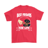 Rottweiler Best Friends For Life Dog Shirts-T-shirt-Gildan Mens T-Shirt-Red-S-Geek Mundo Store