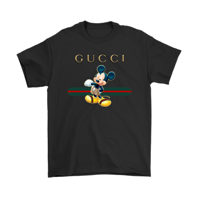 Official Funny Mickey Mouse Disney Shirts-T-shirt-Gildan Mens T-Shirt-Black-S-Itees Global