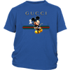 Official Happy Mickey Mouse Disney Shirts-T-shirt-District Youth Shirt-Royal Blue-XS-Geek Mundo Store