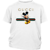Official Happy Mickey Mouse Disney Shirts-T-shirt-District Youth Shirt-White-XS-Geek Mundo Store