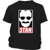 Stan Lee Marvel Comic Spider Man Our Hero Shirt-T-shirt-District Youth Shirt-Black-XS-Itees Global