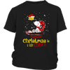 Together Christmas Is A Little Cozier Snoopy Woodstock The Peanuts Movie Shirts-T-shirt-District Youth Shirt-Black-XS-Itees Global
