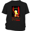 Together Christmas Is A Little Cozier Snoopy Charlie Brown The Peanuts Movie Shirts-T-shirt-District Youth Shirt-Black-XS-Geek Mundo Store