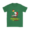 Together Christmas Is A Little Cozier Snoopy Woodstock The Peanuts Movie Shirts-T-shirt-Gildan Womens T-Shirt-Irish Green-S-Itees Global
