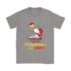 Together Christmas Is A Little Cozier Snoopy Woodstock The Peanuts Movie Shirts-T-shirt-Gildan Womens T-Shirt-Sport Grey-S-Itees Global