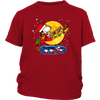Snoopy Santa Claus Christmas The Peanuts Movie Shirt-T-shirt-District Youth Shirt-Red-XS-Geek Mundo Store