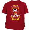 Some Of Us Grew Up Loving Snoopy Shirts-T-shirt-District Youth Shirt-Red-XS-Geek Mundo Store