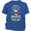 Some Of Us Grew Up Loving Snoopy Shirts-T-shirt-District Youth Shirt-Royal Blue-XS-Geek Mundo Store