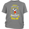 Some Of Us Grew Up Loving Snoopy Shirts-T-shirt-District Youth Shirt-Sport Grey-XS-Geek Mundo Store